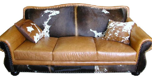 Cowhide Furniture Western Style Free Shipping
