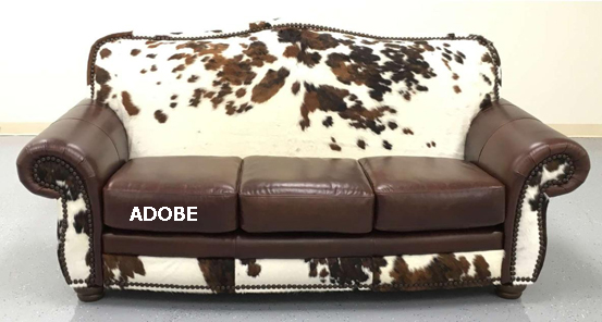 Cowhide Sofas, Couches
