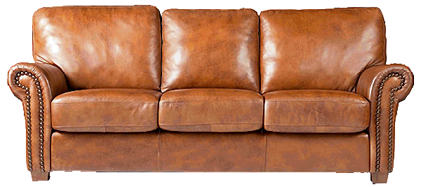 Rustic Leather Couches