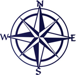 MARITIME WALL HANGINGS, COMPASS