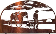 Wall Hangings of Cowboys