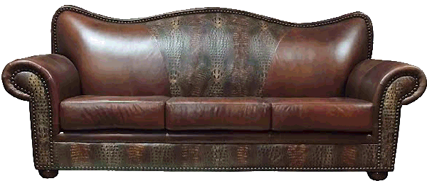 Exotic Rustic Couches