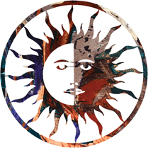 Sun/Moon Wall Art Hangings