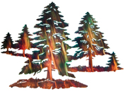 Tree wall art hanging