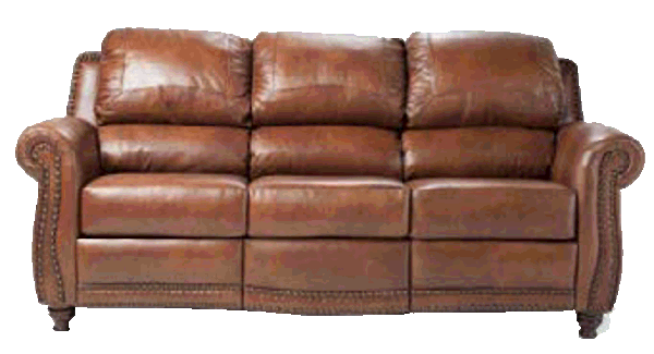 Rustic Genuine Leather Sofas and Couches
