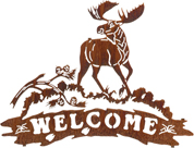 MOOSE WELCOME SIGN