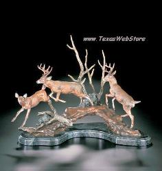 Kitty Cantrell Starlite Originals - Wild Life Statues - Passing the Buck 3247L