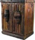 Rustic Country Western Style Game Room Furniture / Bars - Bar Stools