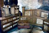 COWHIDE BEDROOM FURNITURE