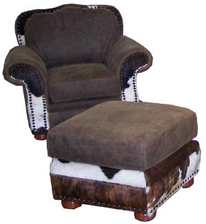 COWHIDE RECLINERS