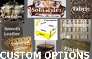Cowhide, custom options link