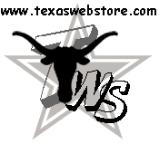 Texas Web Store Logo on alligator sofas page